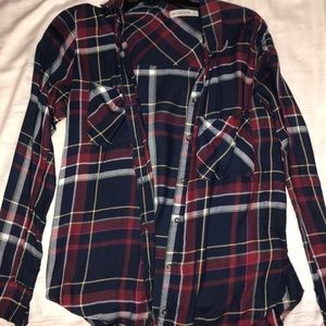 Abercrombie & Fitch Small button up plaid